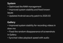 Oxygenos 10.0.8 Update For Oneplus 7t And 7t Pro