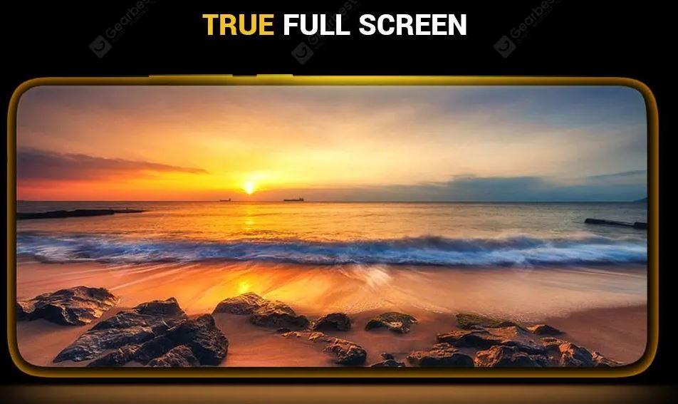 Poco F2 Pro True Full Screen