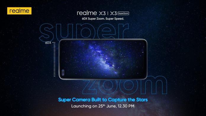 Realme X3 India launch date