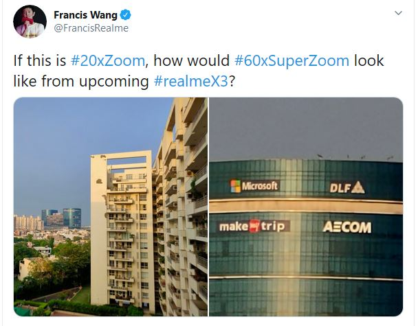 Realme X3 Superzoom India launch