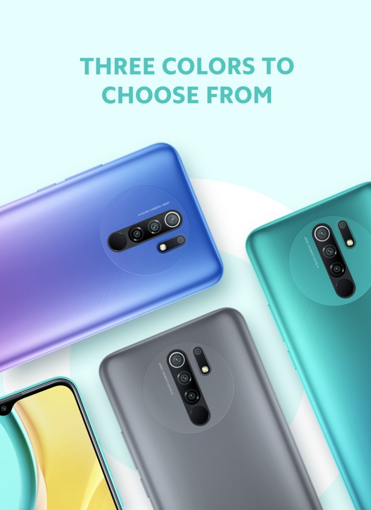 Redmi 9 colours