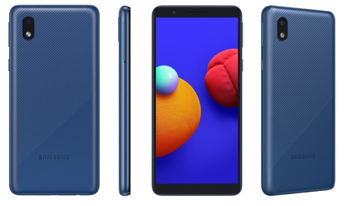 Samsung Galaxy M01 Core colours
