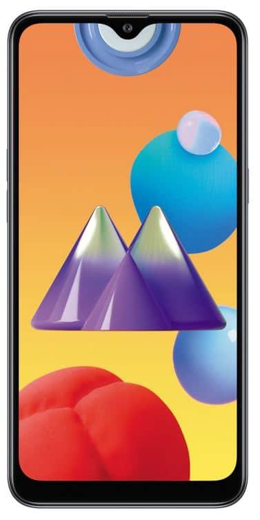 Samsung Galaxy M01s design
