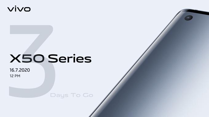 Vivo X50 series india launch date