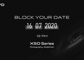 Vivo X50 series india launch