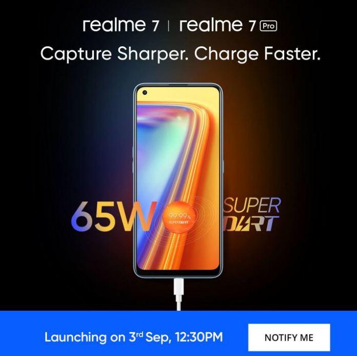 Realme 7 Pro India launch date