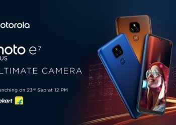 Moto E7 Plus India launch date
