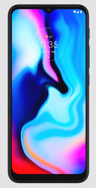 Motorola Moto E7 Plus display