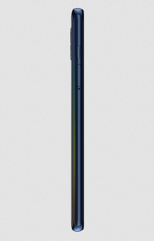 Motorola One 5G Side-Mounted Fingerprint Scanner