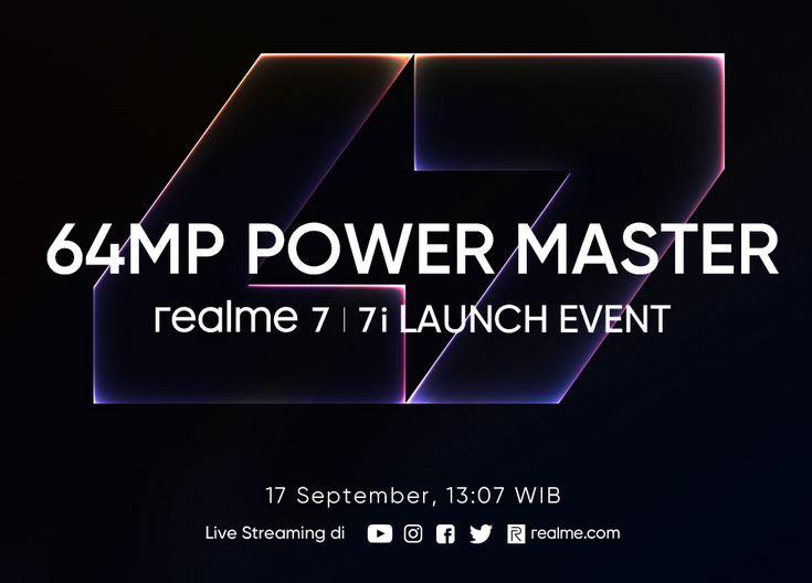 Realme 7i launch date