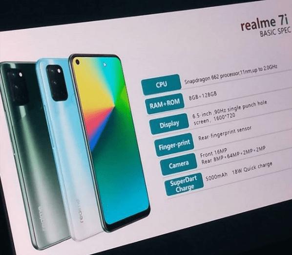 Realme 7i specs leaked