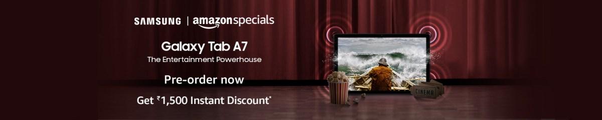 Samsung Galaxy Tab A7 launch offer