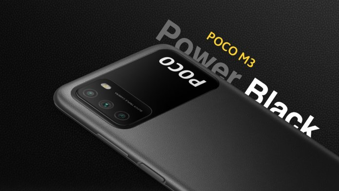 Poco M3 Power Black