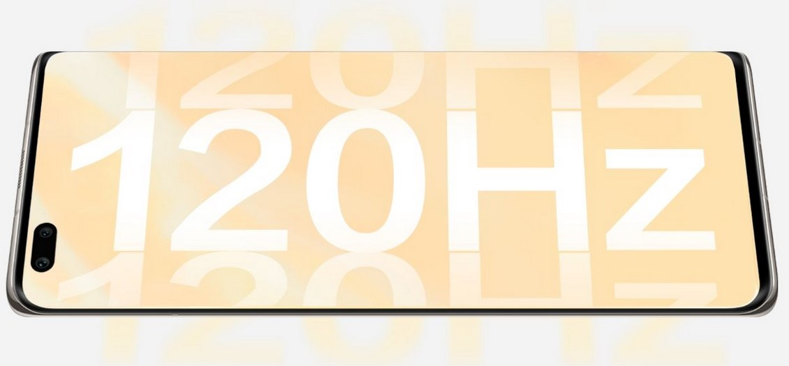 Huawei Nova 8 Pro 5G 120Hz refresh rate