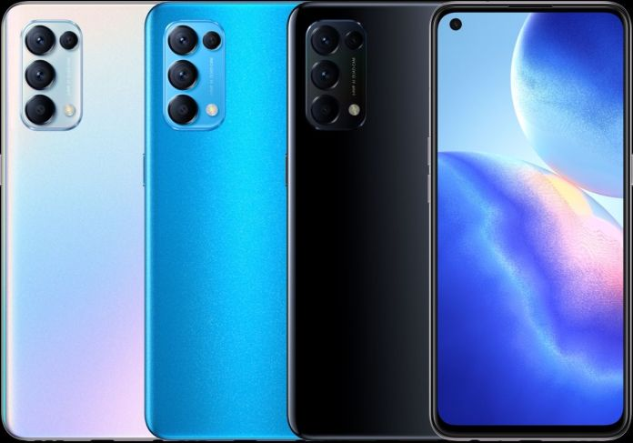 Oppo Reno5 5g Official