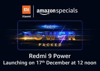 Redmi 9 Power India Launch Date