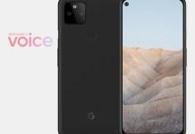 Google Pixel 5a leaked renders
