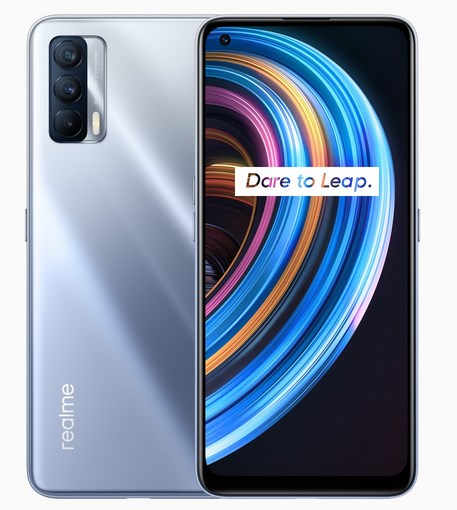 Realme X7 5G Space Silver colour