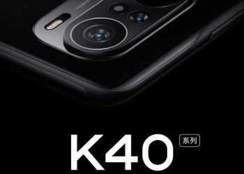Redmi K40 Pro design