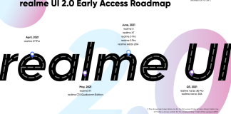 Realme UI 2.0 Access Roadmap