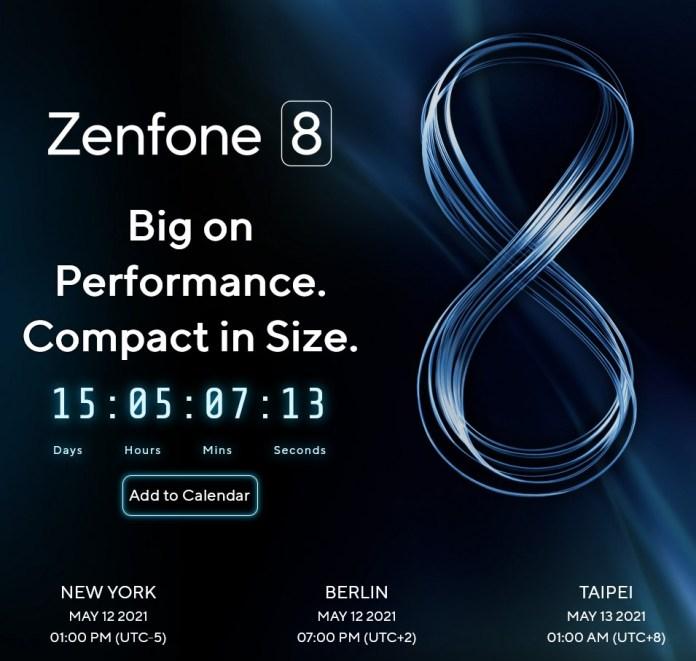 ASUS Zenfone 8 launch date official