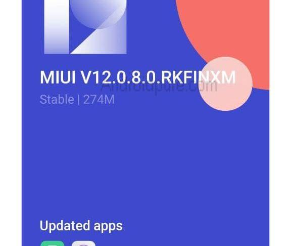 MIUI 12.0.8.0 Update for Redmi Note 10 Pro brings March Security Patch