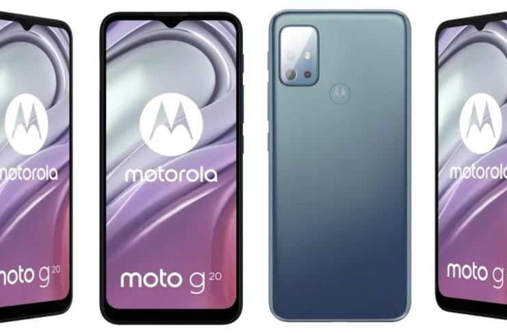 Moto G20 Specs and Render leaked