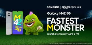 Samsung Galaxy A42 5G India launch date