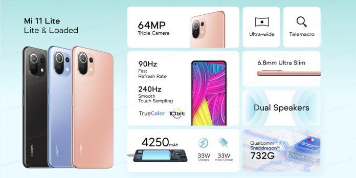 Xiaomi Mi 11 Lite India