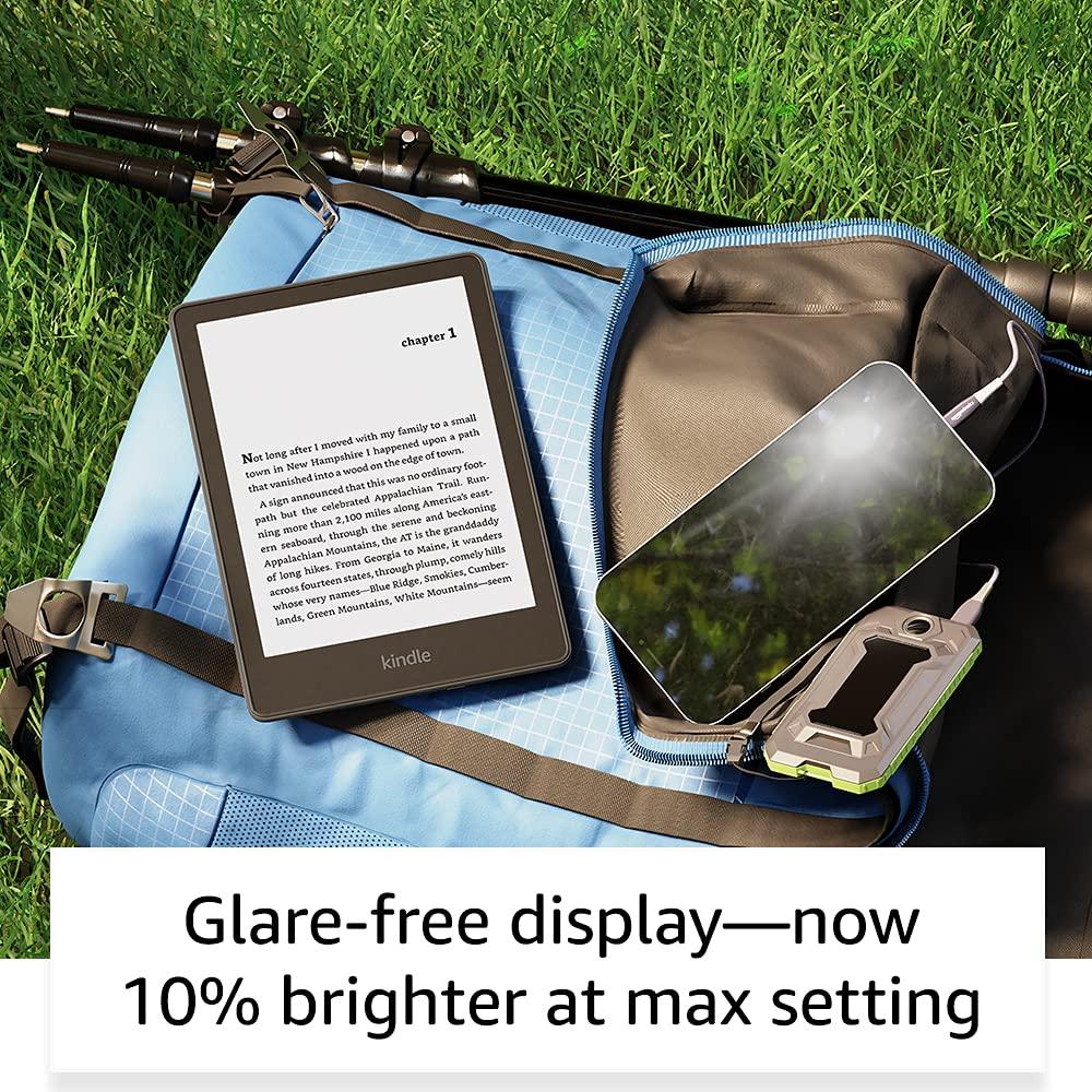 Kindle Paperwhite 11th gen glare-free display