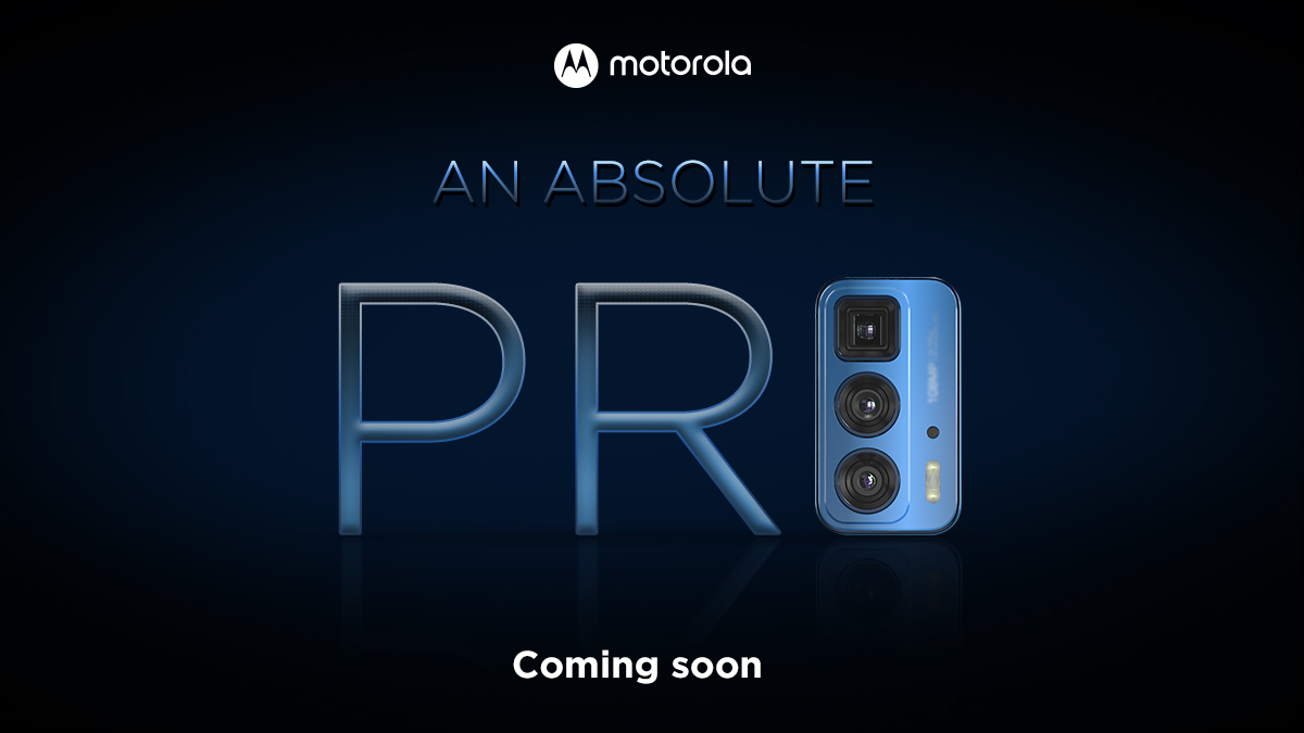 Motorola Edge 20 Pro India Launch