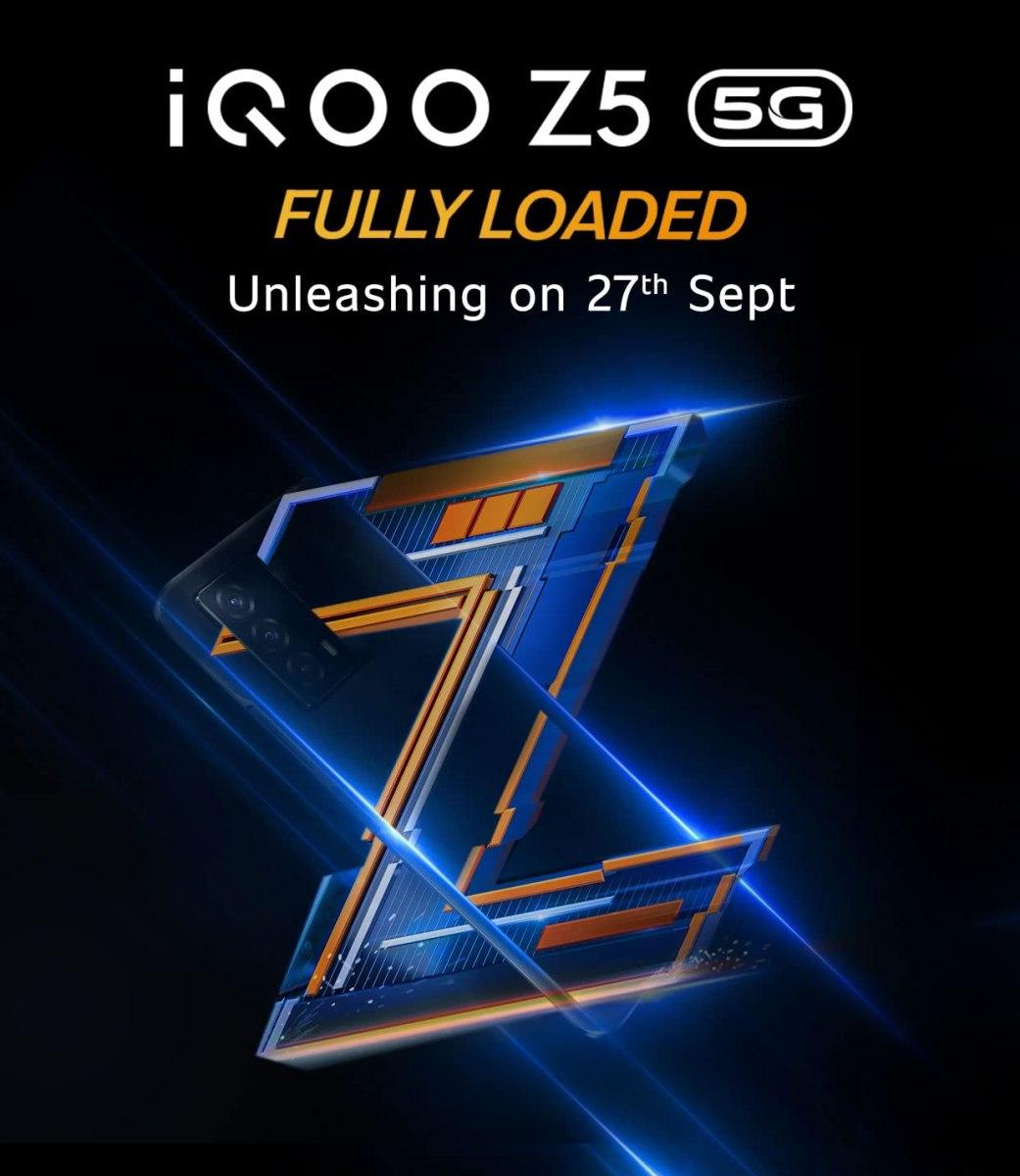 iQOO Z5 5G launch date