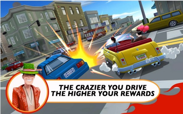Untitled Crazy Taxi City Rush - Joc Nou Android