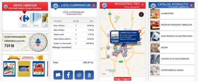 carrefaplicon Aplicatii Android Ale Magazinelor Online Romanesti