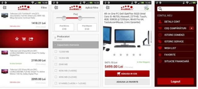 evoaplicmag Aplicatii Android Ale Magazinelor Online Romanesti