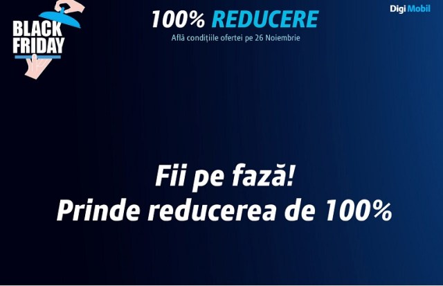 reduceredigiblackfridfay Black Friday La RCS RDS, Reduceri Totale