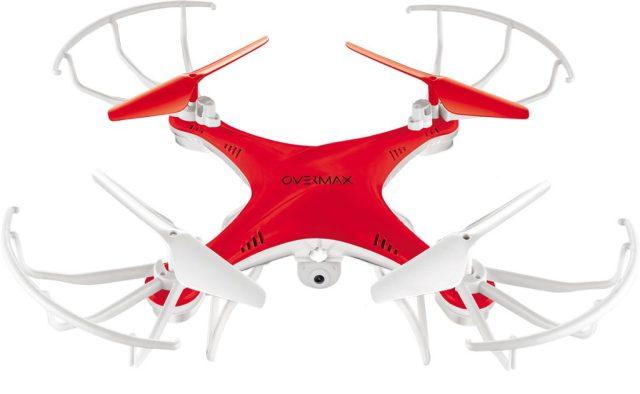 OV-X-BeeDrone_front(red) X-Bee Drone 3.1, drona ieftina cu camera video de la Overmax