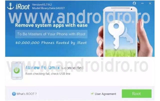 3434 Cum faci root pe telefonul Allview P6 Qmax