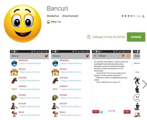 tr123 Iata si cea mai completa aplicatie Android de bancuri din Google Play