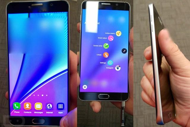 wqe Samsung Galaxy Note 5, pret, lansare si primele pareri