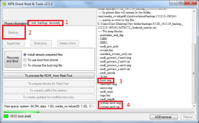 12 Portare ROM-uri pentru telefoane cu procesor MT6572/77/82/89/91/92