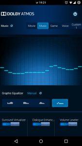DolbyA1 Dolby Atmos - un excelent egalizator audio