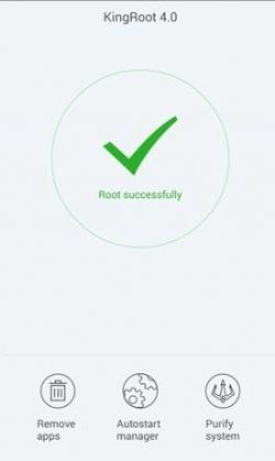 kingroot3 Tutorial Root pentru telefonul Bluboo XFire