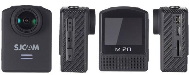 7777 SJCAM M20, camera video sport accesibila si buna alternativa la GoPRO