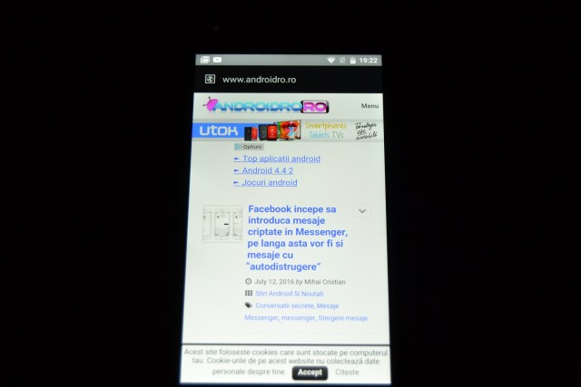 DSC_0454 REVIEW display UMi Touch si comparat cu UMi Super, tot partea de display