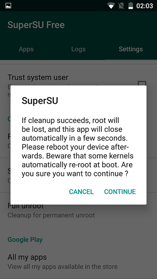 Screenshot_20150101-020310 Nu mai primesti actualizari OTA? Fa simplu unroot si apoi root!