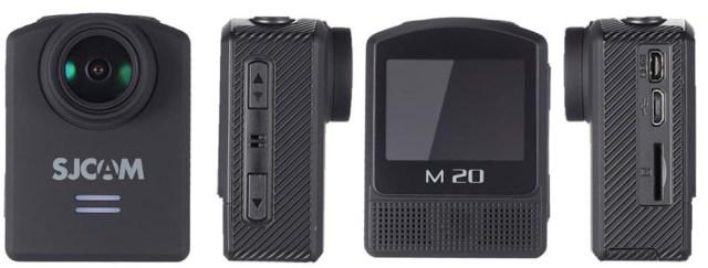 camera sjcam SJCAM M20 camera sport cu filmare 4K si reducere buna de pret