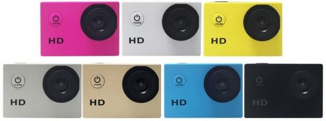 D2369B Aceasta este una dintre cele mai ieftine camere de actiune HD!