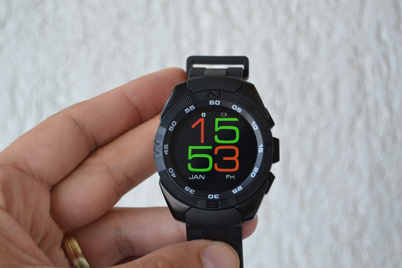 NO.1 G5 smartwatch, unboxing si scurt review, pret mic si dotari bune