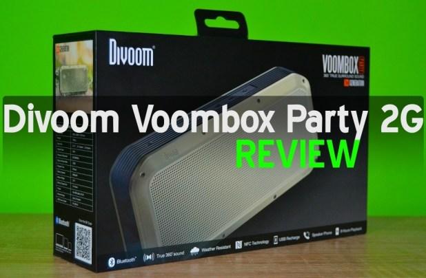 34 REVIEW boxa Divoom Voombox Party 2G, un monstru audio!